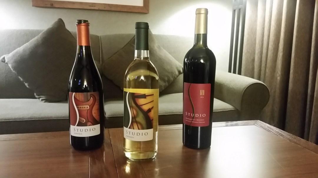 Wines from Studio Winery in Lake Geneva