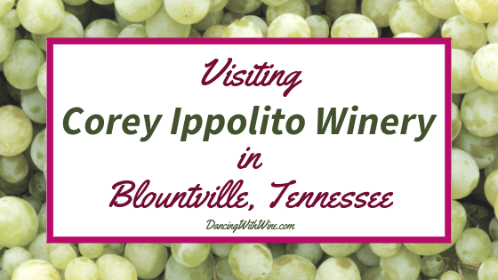 Visiting Corey Ippolito Winery in Blountville, Tennessee
