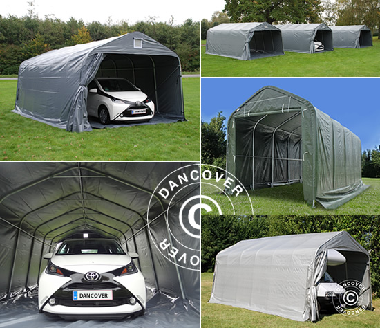 portable and flexible garages