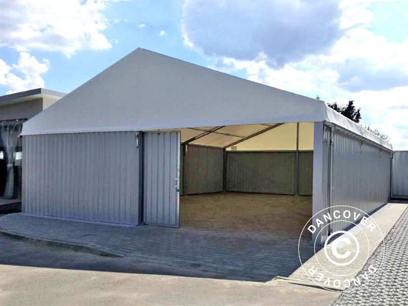 Industrial storage shelter from Dancover