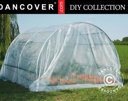 Polytunnel greenhouse from our DIY Collection