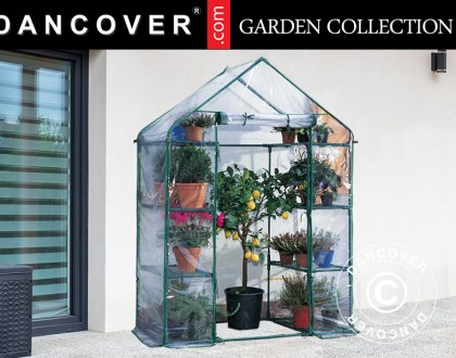 Compact polytunnel greenhouses for your patio and more