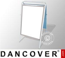 A-board, 58x92 cm, White