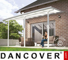 Carport/ Patio Cover 3x4.25 m, White