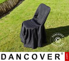 Chair cover for 44x44x80 cm chair, Black