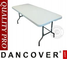 Banquet table 182x74x74 cm, Light grey (1 pcs.)