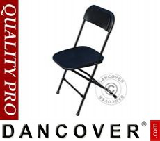 Folding Chair, black 44x44x80 cm, 24 pcs.
