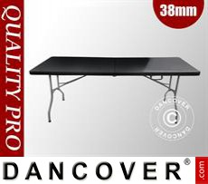 Folding Tables 182x74x74 cm, Black (10 pcs.)
