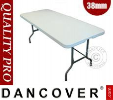 Folding Table 182x74x74cm, Light Grey (10 pcs.)