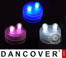 LED Floralytes (30pcs) DIA3 cm, Mixed colours