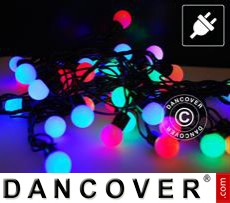 LED Fairy lights, blinking, 25 m, Multi coloured