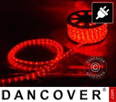 LED Rope light, 25m LED, Ø 1.2 cm, Multifunction, Red