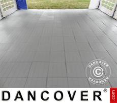 Plastic flooring Basic, Piastrella, Grey, 18.72 m²
