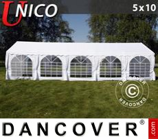Party Marquee UNICO 5x10 m, White