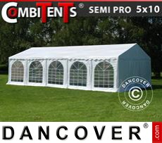 Party Marquee SEMI PRO Plus CombiTents® 5x10 m, 3-in-1