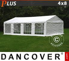 Party Marquee PLUS 4x8 m PE, White