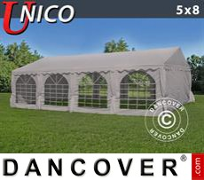 Party Marquee UNICO 5x8m, Sand