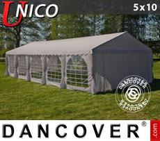 Party Marquee UNICO 5x10 m, Sand