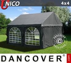 Party Marquee UNICO 4x4 m, Black