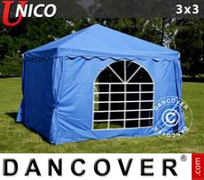 Party Marquee UNICO 3x3 m, Blue