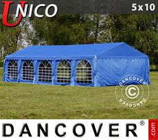 Party Marquee UNICO 5x10 m, Blue