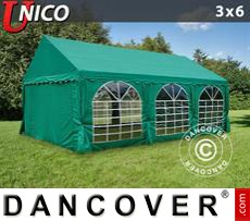 Party Marquee UNICO 3x6 m, Dark Green
