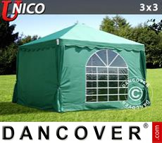 Party Marquee UNICO 3x3 m, Dark Green