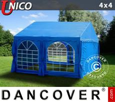 Party Marquee UNICO 4x4 m, Blue