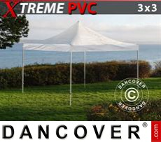 Pop Up Marquee Xtreme 3x3 m Clear