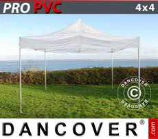 Pop Up Marquee PRO 4x4 m Clear