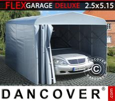Folding tunnel garage (Car), ECO, 2.5x5.15x2.15 m, Grey
