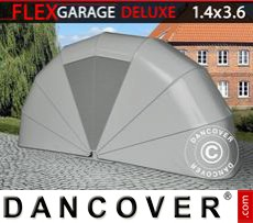 Folding garage (MC), 1.4x3.6x1.8 m, Grey