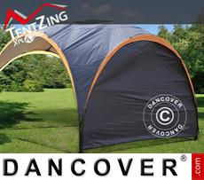 Event Furniture Sidewall for camping sun shelter, TentZing®, Dark Grey