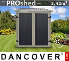 Garden shed 1.42x1.98x1.57 m ProShed, Anthracite