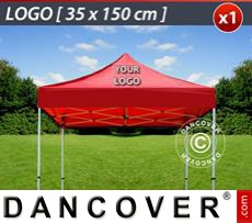 1 pc. FleXtents roof cover print 35x150 cm