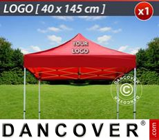 1 pc. FleXtents roof cover print 40x145 cm
