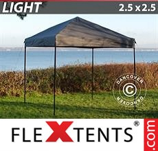 Pop up canopy Light 2.5x2.5 m Grey