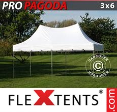 Pop up canopy PRO Peak Pagoda 3x6 m White