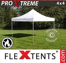 Pop up canopy Xtreme 4x4 m White, Flame retardant