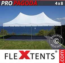 Pop up canopy PRO Peak Pagoda 4x8 m White
