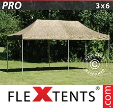 Pop up canopy PRO 3x6 m Camouflage/Military