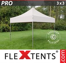 Pop up canopy PRO 3x3 m Latte
