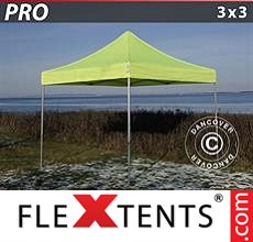 Pop up canopy PRO 3x3 m Neon yellow/green
