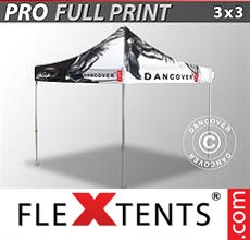 Pop up canopy PRO with full digital print, 3x3 m