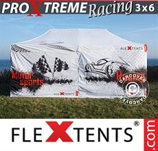 Pop up canopy PRO Xtreme Racing 3x6 m, Limited edition