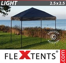 Pop up canopy Light 2.5x2.5 m Black