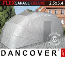 Portable Garage , 2.5x5.4x2 m, Grey