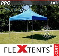 Racing tent PRO 3x3 m Blue
