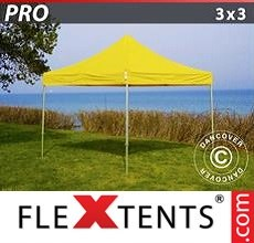 Racing tent PRO 3x3 m Yellow