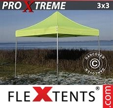 Racing tent Xtreme 3x3 m Neon yellow/green